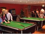 Games room in club house