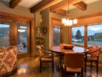 Gather with family and friends to share an informal meal in the breakfast nook.