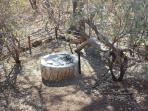 A braai and chatting around campfire is the ultimate experience of African style of outdour living