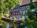 Beautiful Colmar at your door step