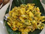 Enjoy an optional breakfast of Jamaican Ackee and saltfish  What ?