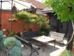 Une terrasse extérieure