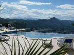 5 star Villa Olive with views of the Adriatic you won't want to leave. The terrace and infinity pool