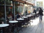 Millenium Walkway - Italian Restaurant quarter - 8 mins walk from the apartment.