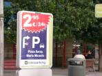 City centre 24 hour parking at the lowest price - just 6 min/450 m walk away.