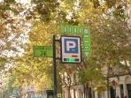 Secure night time parking within 2 min walk