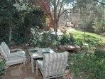 Peaceful  private garden.