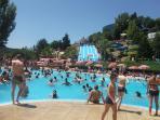 Parque aquático de Amarante.