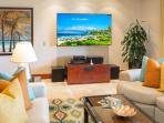 Castaway Cove C201 - Ocean View Great Room Upgraded with a Large Flat Screen HD TV, CD/DVD, iPod Dock and Speakers