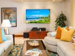Castaway Cove C201 - Ocean View Great Room Upgraded with a Large Flat Screen HD TV, CD/DVD, iPod Dock and Speakers.