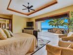 Master Bedroom with King Bed and Views