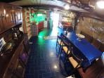dining room/living/kitchenette