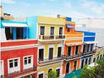 Colors of Old San Juan.