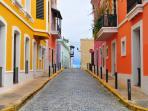 Colors of Old San Juan. Part 2