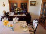 Breakfast - Guest dining room