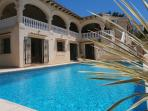 Apartment Situated on lower level of large family villa