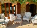 Portico seating