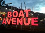 Next to is Boat Avenue Plaza