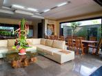 Villa Lega - Living and dining area