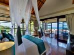 Villa Lega - Ocean view from master bedroom
