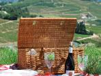 Enjoy a picnic amongst the vineyards!