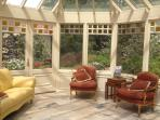 Conservatory guest lounge