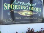 Sporting Goods Store for those who want to venture out fishing!