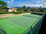 Tennis courts at Sea Village too!