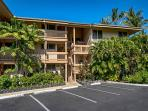 Front of Building 4. A Direct oceanfront building at Sea VIllage. 2nd floor condo!
