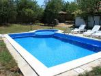 The pool....