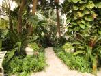 Entry way to garden