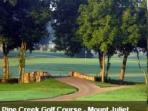 Pine Creek Golf Course only 1/2 mile from cabin.