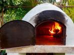 Villa Aqua Wood fired oven