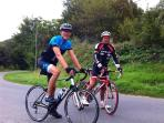 Friends our cycling, a great way of seeing the countryside and keeping fit!