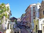 Casco viejo is about 10 minutes away  from apartment.