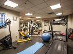 Simba Run fitness room.