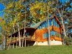 Kodiak is a stunning three bedroom cabin in the beautiful Walden's Creek Area of Pigeon Forge!