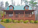 Enjoy our Bear Trails Cabin, off the Beaten Path, with its Cozy Surroundings!