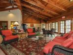 Large lobby with ample seating for group meetings/family gatherings. Vending machine available. Free coffee served in...