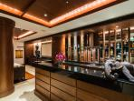 Entertainment room bar