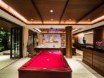 Entertainment room Pool Table