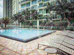 Luxurious infinity pool.