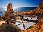 Boneca bar ,Algar seco ,a hidden gem walk along the beautiful cliff top or 5min drive