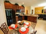 Eat in kitchen, seating for four