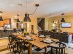 Open Floor Plan - Living, Dining Room & Kitchen