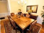 Formal Dining Area for Six (6) - View #2