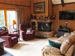 Located at Base of Powderhorn Mtn in the Western Upper Peninsula, Intimate & Cozy Home in Wooded Setting with Outdoor Hot Tub