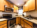 Fully-equipped Kitchen, w/updated appliances & glass-top stove (view #1)