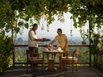 The Longhouse - Breakfast on the veranda