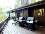 Barbecues on Upper Deck